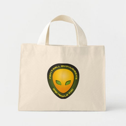 Paintball Enthusiasts Are People Too Mini Tote Bag