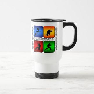 Paintball espectacular taza de viaje
