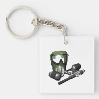 Paintball Gear 2 Keychain