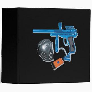 Paintball Gear 3 Ring Binder