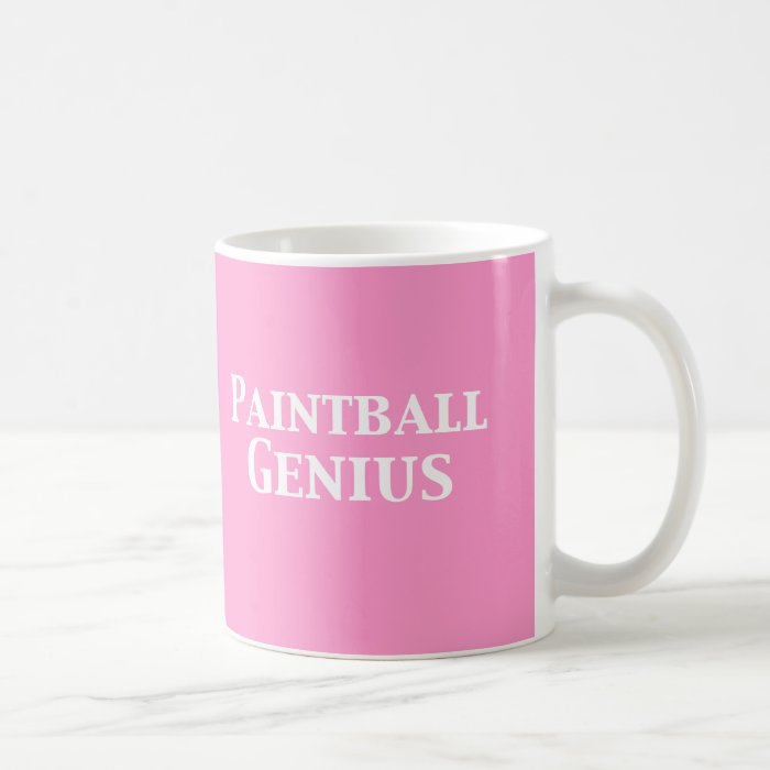 Paintball Genius Gifts Coffee Mug