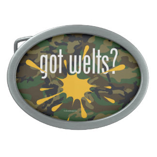 Paintball got welts? belt buckle