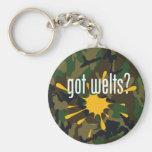 Paintball got welts? key chain