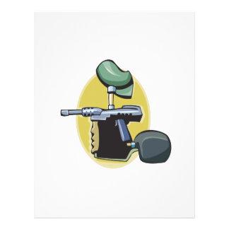 Paintball Gun 3 Full Color Flyer
