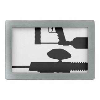 Paintball Gun Belt Buckle