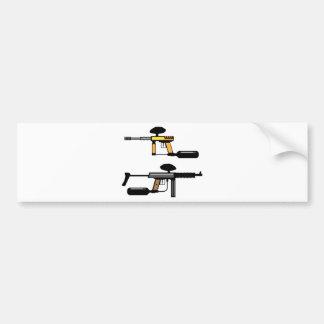 Paintball Gun Bumper Sticker