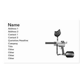 Paintball Gun Business Card