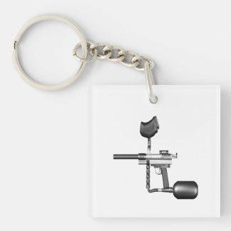 Paintball Gun Keychain
