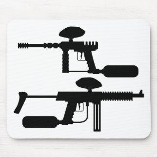 Paintball Gun Mouse Pad