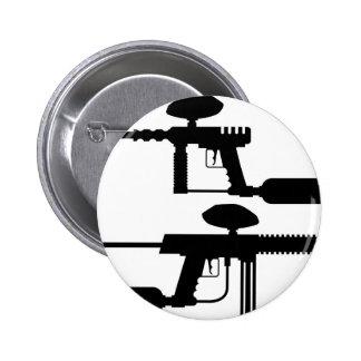 Paintball Gun Pinback Button