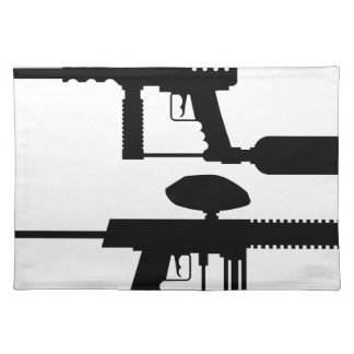 Paintball Gun Placemat