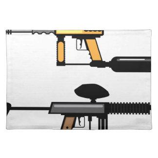 Paintball Gun Placemat