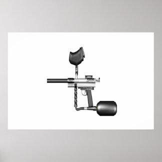 Paintball Gun Poster