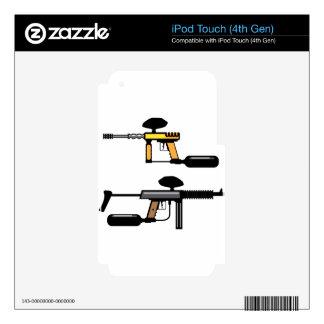 Paintball Gun Skin For iPod Touch 4G