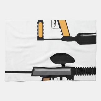 Paintball Gun Towel