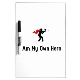 Paintball Hero Dry Erase Board