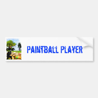 Paintball in the Spring Bumper Sticker