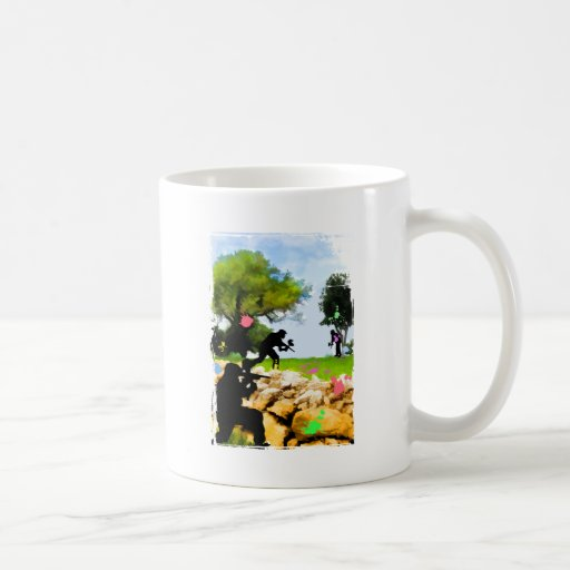 Paintball in the Spring Coffee Mug
