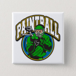 Paintball Logo Button