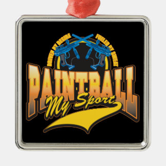 PaintBall My Sport Metal Ornament