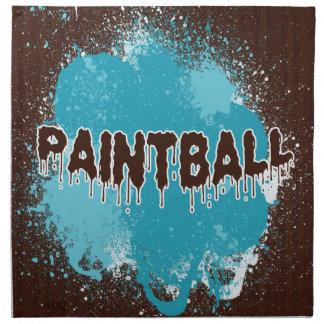 Paintball Napkins