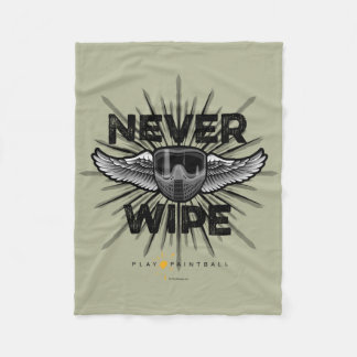 Paintball Never Wipe Fleece Blanket