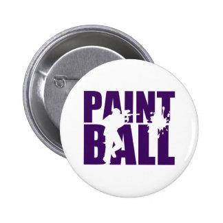 Paintball Pinback Button