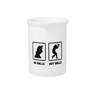 Paintball Beverage Pitchers