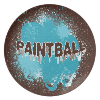 Paintball Plate