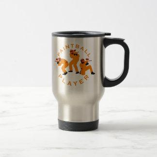 paintball players travel mug