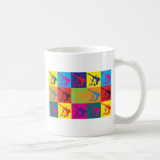 Paintball Pop Art Coffee Mug
