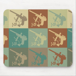 Paintball Pop Art Mouse Pads