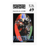 Paintball Postage Stamp