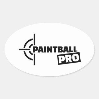 Paintball Pro crosshairs Sticker