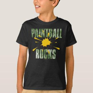 Paintball Rocks (green) T-Shirt
