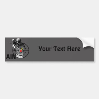 Paintball Shooter - Aim Bumper Sticker