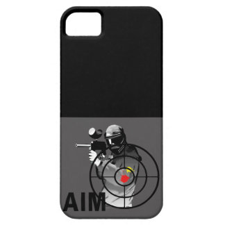 Paintball Shooter - Aim iPhone 5 Case
