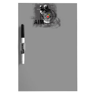 Paintball Shooter - Aim Dry Erase Board