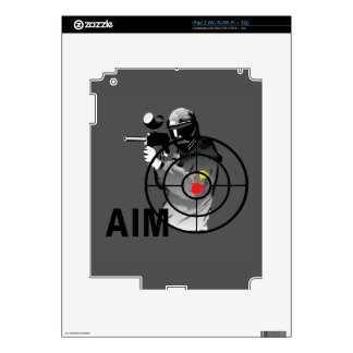 Paintball Shooter - Aim iPad 2 Skins