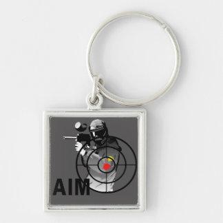 Paintball Shooter - Aim Keychain
