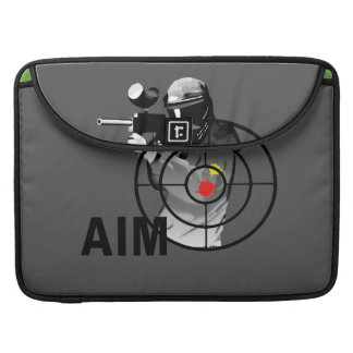 Paintball Shooter - Aim Sleeves For MacBook Pro