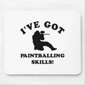 paintball skill gift items mouse pad