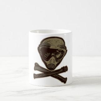 Paintball Skull Coffee Mug