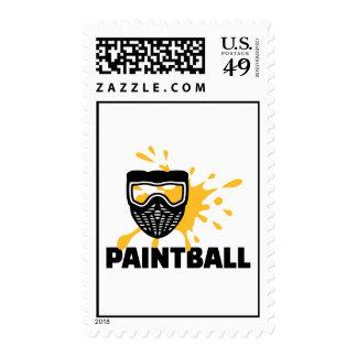 Paintball splash mask stamps