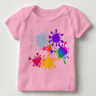 Paintball Splats Baby T-Shirt