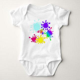 Paintball Splats Body Para Bebé