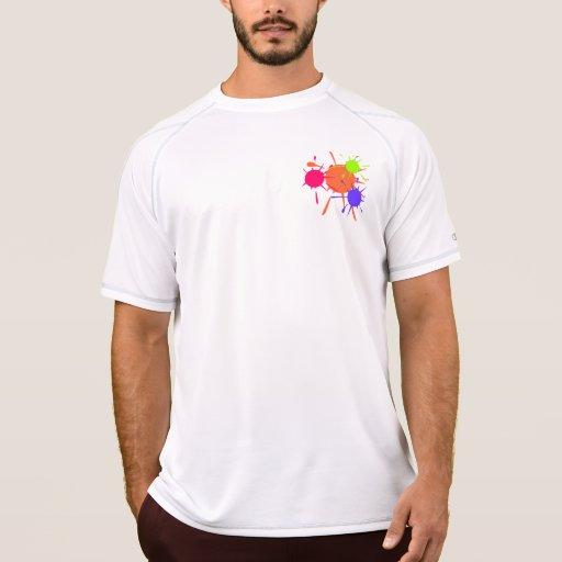 Paintball Splats Camiseta Sin Mangas