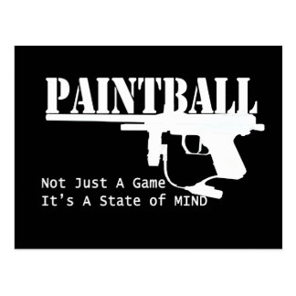 Paintball State of Mind Postcard