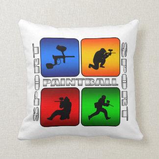 Paintball Super Nice Sport Design Throw Pillow