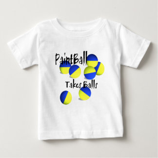 Paintball takes Balls Baby T-Shirt